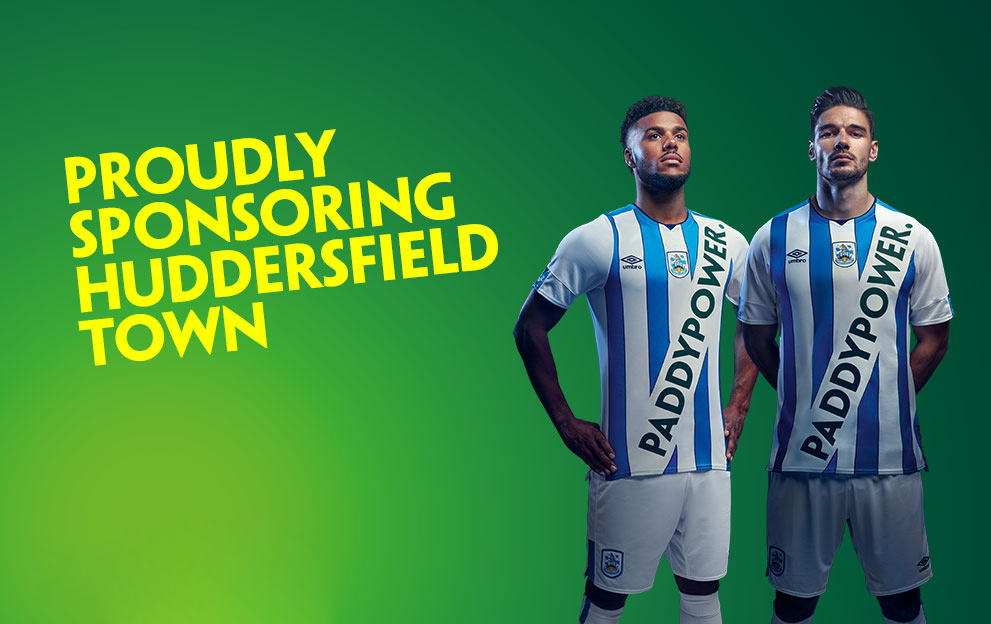 The spoof Paddy Power shirt that got some Huddersfield Town fans very hot under the collar