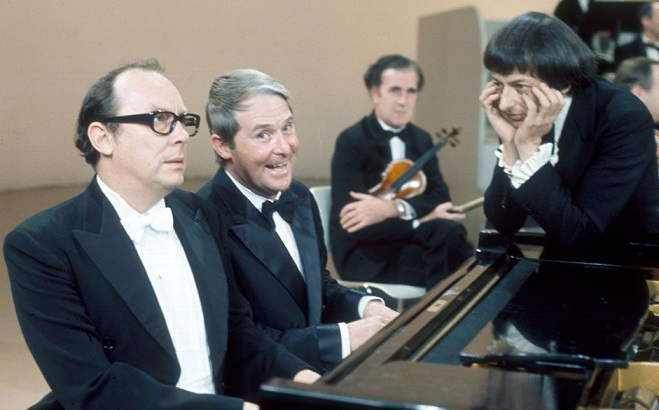 Unlike Eric Morecambe playing the piano, copywriting is all about getting the right words in the right order